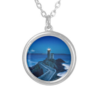 plouzane silver plated necklace