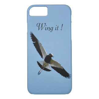 Plover bird in flight iPhone 8/7 case