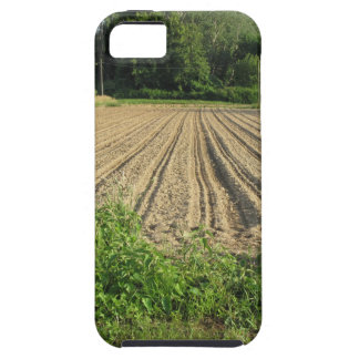 Plowed field in the late afternoon in Tuscany iPhone 5 Cases