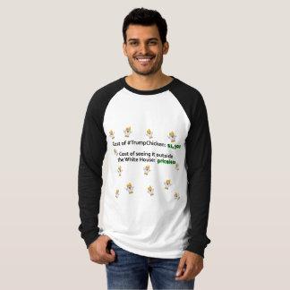 Pluck Trump Chicken Funny Men's Tshirt