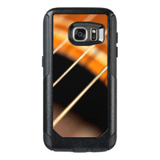 Plucked Vibrating Acoustic Guitar Strings OtterBox Samsung Galaxy S7 Case