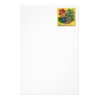 Plucky Rooster Stationery