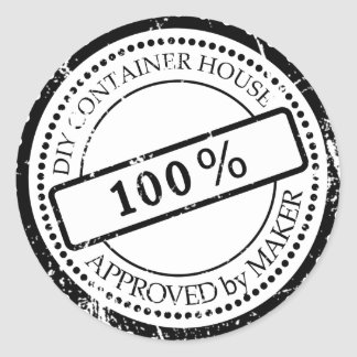 Plug Approved by Maker Classic Round Sticker