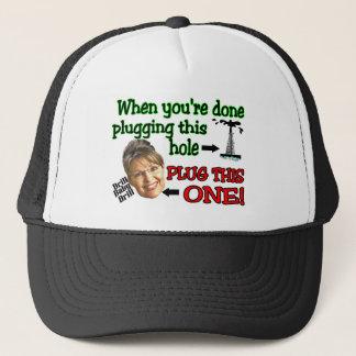 plug this hole trucker hat