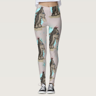 PLUM  ALIEN CARTOON Leggings