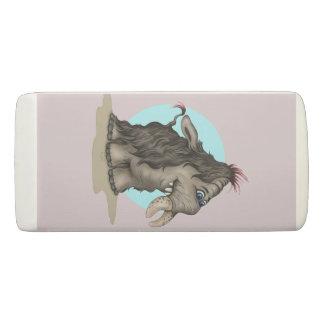 PLUM ALIEN WEDGE Eraser