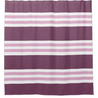 Plum Berry Pink Stripe Pattern