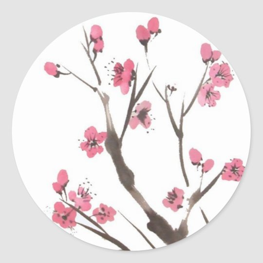 Plum Blossom Branches Stickers