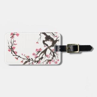 Plum Blossom Curve Tag