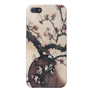 Plum Blossoms and the Moon, Hokusai Case For The iPhone 5