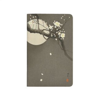 Plum Blossoms at Night by Ohara Koson Elegant Journal
