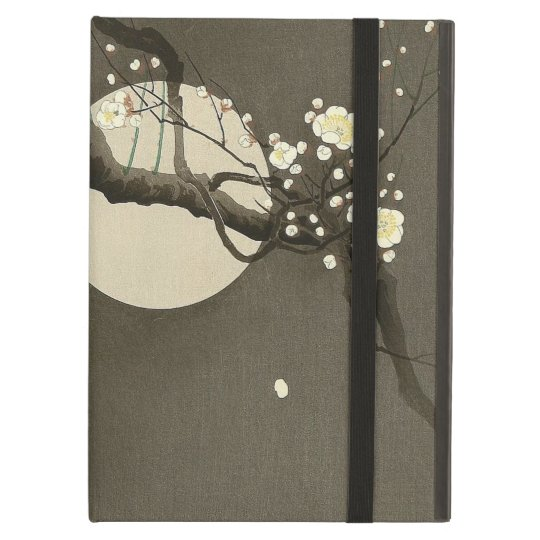 Plum Blossoms at Night by Ohara Koson Vintage Cover For iPad Air