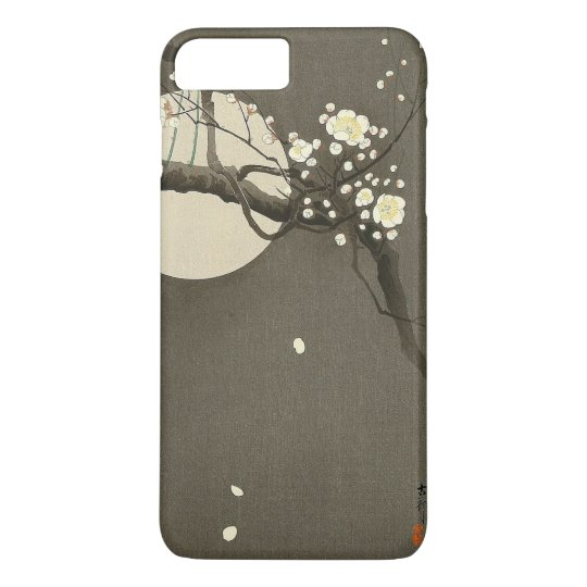 Plum Blossoms at Night by Ohara Koson Vintage iPhone 7 Plus Case