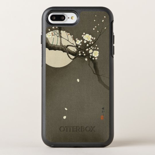 Plum Blossoms at Night by Ohara Koson Vintage OtterBox Symmetry iPhone 8 Plus/7 Plus Case