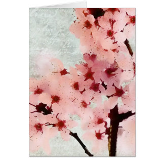 Plum Blossoms Card
