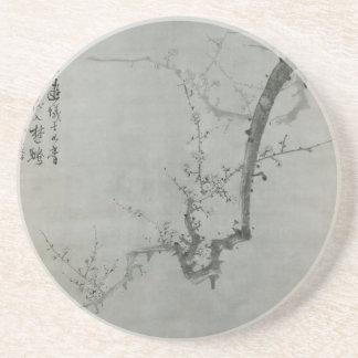 Plum Branch - Yi Yuwon Beverage Coasters