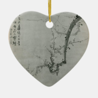 Plum Branch - Yi Yuwon Ceramic Ornament
