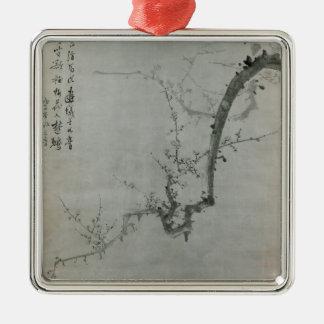 Plum Branch - Yi Yuwon Metal Ornament