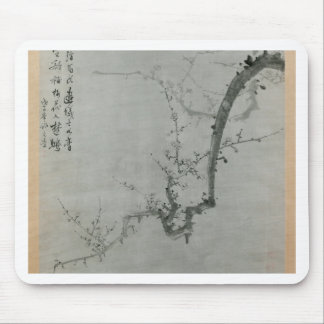 Plum Branch - Yi Yuwon Mouse Pad