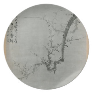 Plum Branch - Yi Yuwon Plate
