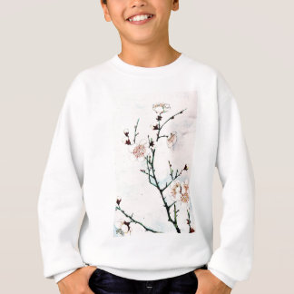 Plum Branches with Blossoms Ukiyo-e Asia Asian Art Sweatshirt