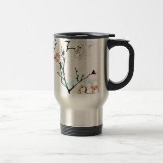 Plum Branches with Blossoms Ukiyo-e Asia Asian Art Travel Mug