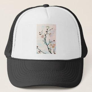 Plum Branches with Blossoms Ukiyo-e Asia Asian Art Trucker Hat