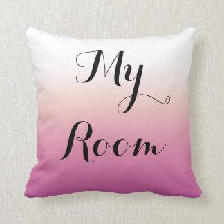 Plum Fade Throw Pillow