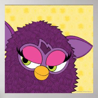 Plum Fairy Furby Poster