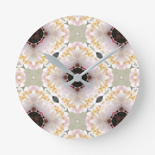 Plum flower clock