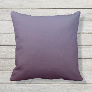 Plum Gradient Outdoor Pillow