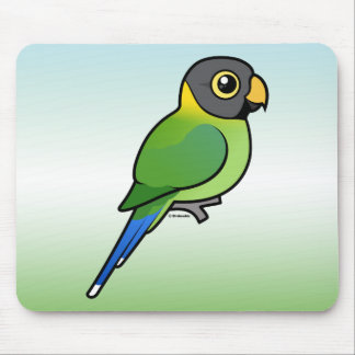 Plum-headed Parakeet female Mouse Pad