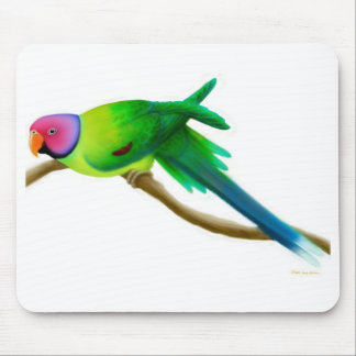 Plum Headed Parakeet Mousepad