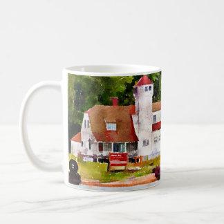 Plum Island Life Saving Station Door County Coffee Mug