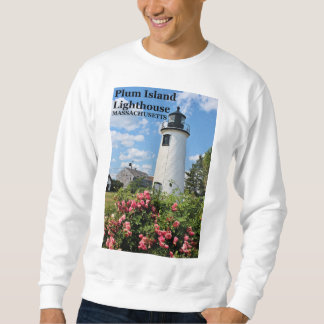Plum Island Lighthouse, Massachusetts Sweatshirt