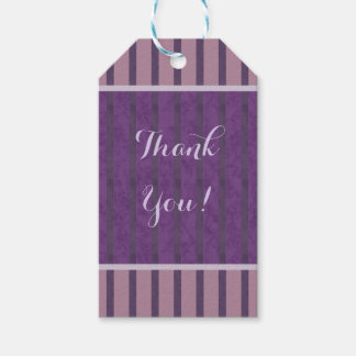 Plum Lavender Mauve Pack Of Gift Tags