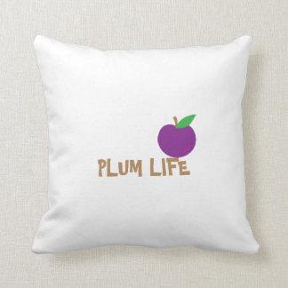 PLUM LIFE THROW PILLOW