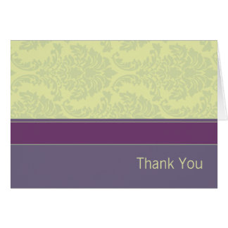 Plum Love Collection Thank You Card