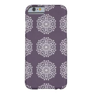 Plum Mandala Barely There iPhone 6 Case