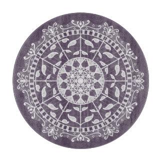 Plum Mandala Boards