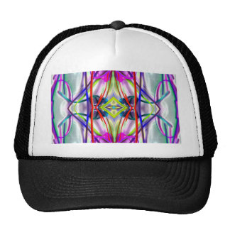 Plum Perfect Bent Lines Trucker Hat