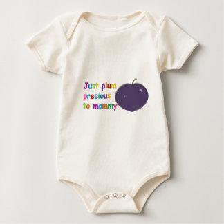 Plum Precious to Mommy Baby Bodysuit