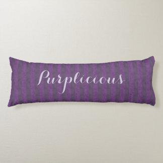 Plum Purplicious Body Pillow