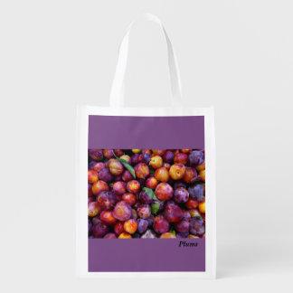 Plum Reusable Grocery Bag