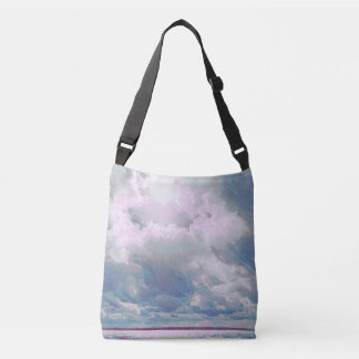 Plum Seascape Crossbody Bag