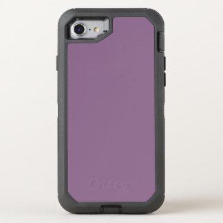 Plum Solid Color OtterBox Defender iPhone 7 Case