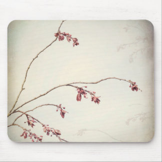 Plum Tree Branch with Spring Buds | Seabeck, WA Mouse Pad
