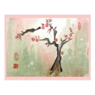 Plum Tree Postcard