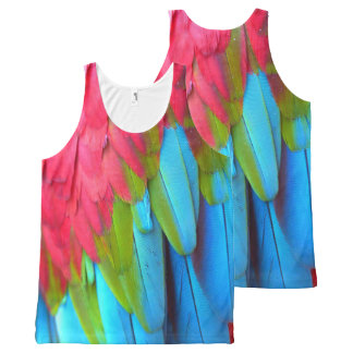 Plumage 1A All-Over-Print Tank Top