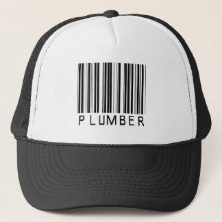 Plumber Bar Code Trucker Hat